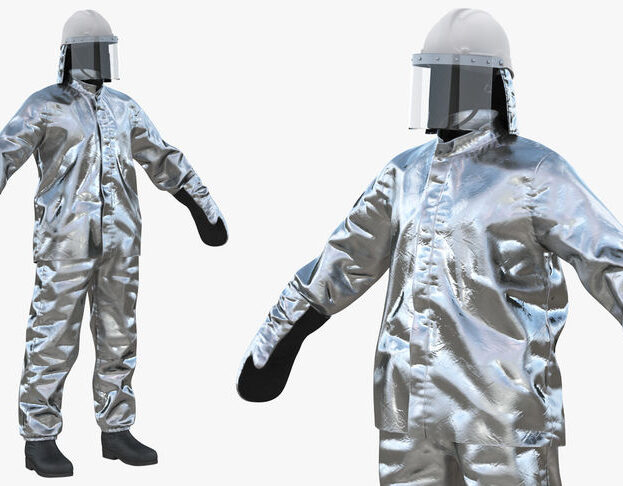 Aluminized Safety Suit